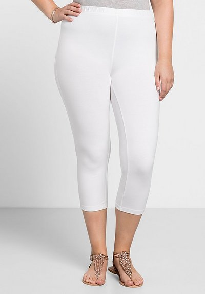 BASIC Capri Leggings - weiß - 40