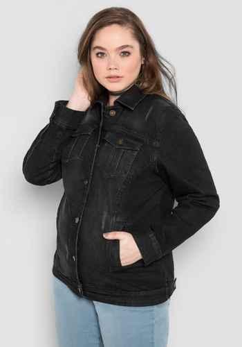 Jeansjacken für Damen in großen Größen in Größe 54 online kaufen ... 6801a57459