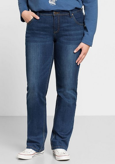 Gerade Stretch-Jeans LANA - blue Denim - 44