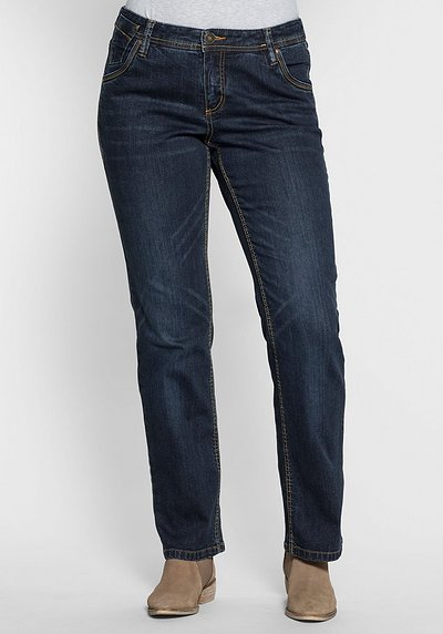 Gerade Stretch-Jeans LANA - dark blue Denim - 40