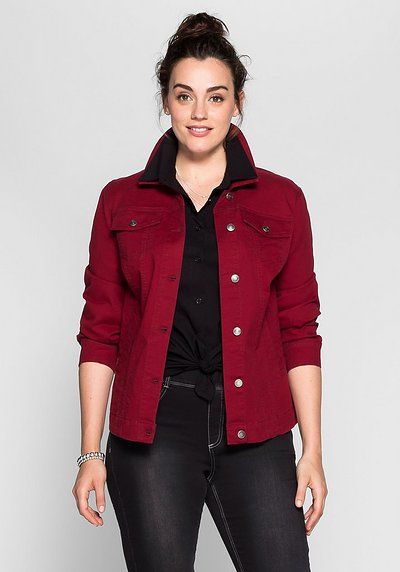 BASIC Kurzjacke - bordeaux - 40