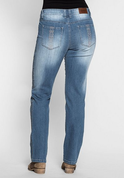Gerade Stretch-Jeans LANA - blue Denim - 40