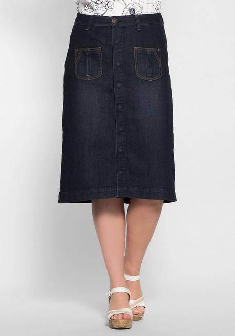 huge discount 9ea1f f87fb Jeansrock mit Taschen