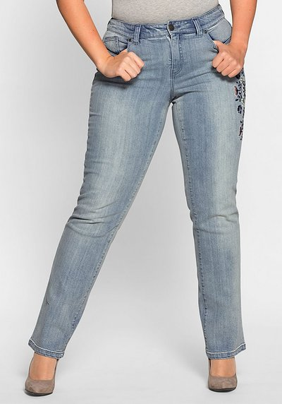 Gerade Stretch-Jeans LANA - light blue Denim - 40