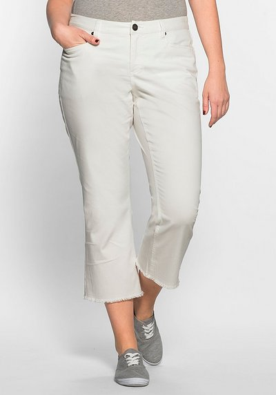 Stretch-Hose in 7/8-Länge - offwhite - 40