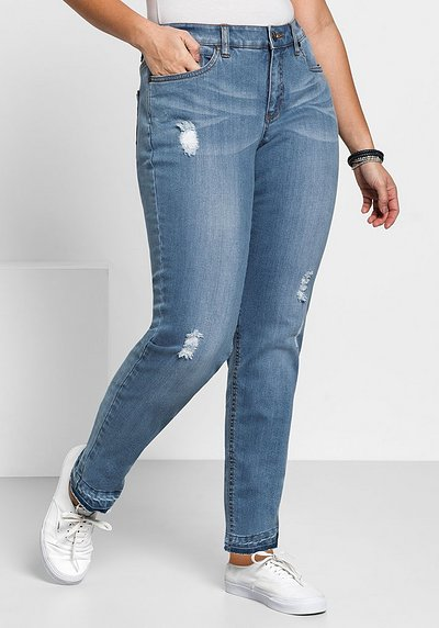 Schmale Stretch-Jeans KIRA - light blue Denim - 40