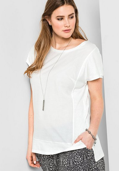 T-Shirt in leichter Oversize-Form - offwhite - 40/42