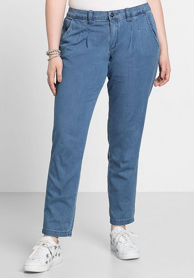Jeans im Chino-Schnitt - light blue Denim - 40