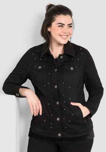 size 40 95aad b2699 Damen Jacken große Größen von SHEEGO DENIM schwarz | sheego ...