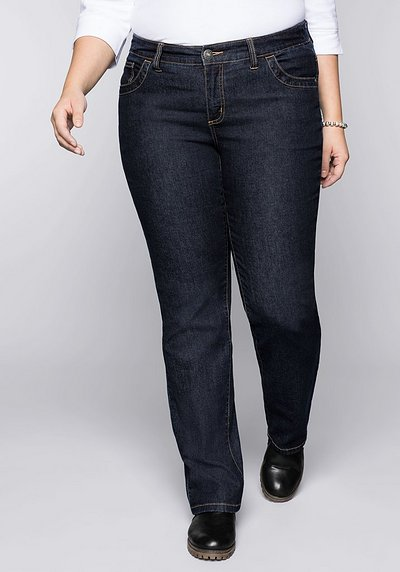 Wasserabweisende Stretch-Jeans LANA - dark blue Denim - 44