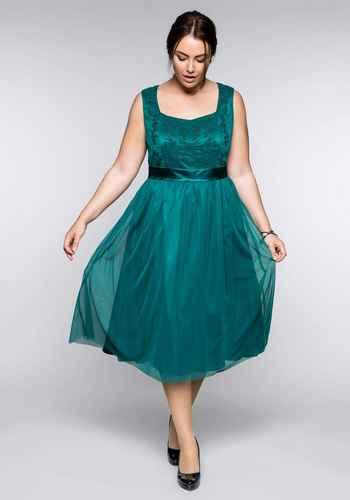 967503215ca Elegante SHEEGO STYLE Abendkleider - viele große Größen in grün ...