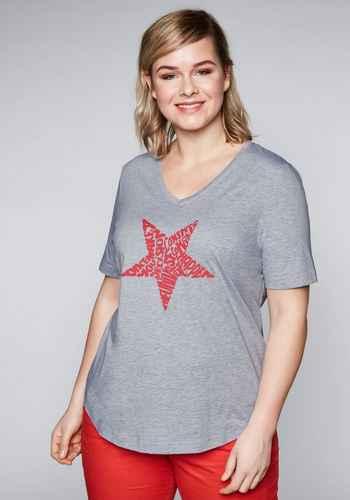 5267ffabdc52c5 Shirts und Tops Kurzarm in großen Größen in grau online kaufen