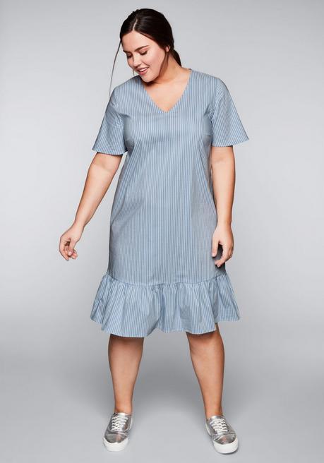 Streifen Mit Volants Streifen Mit Und Kleid Volants Mit Kleid Kleid Und UpjLqzVGSM