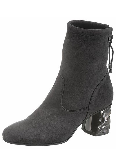 s.Oliver RED LABEL Stiefelette - anthrazit - 40