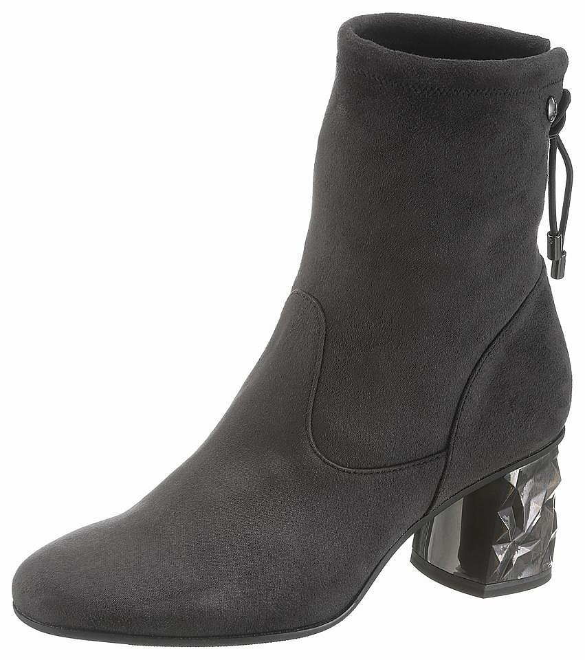 s.Oliver RED LABEL Stiefelette - anthrazit   sheego f27951420a