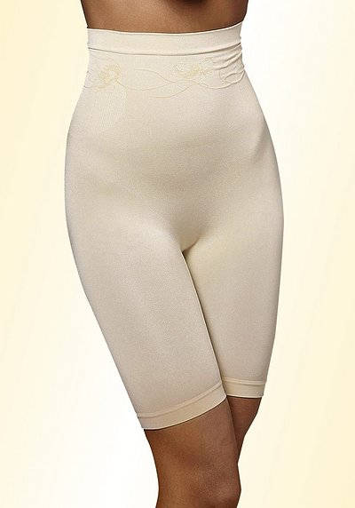 LASCANA Shaping-Hose mit hoher Taille - champagner - L