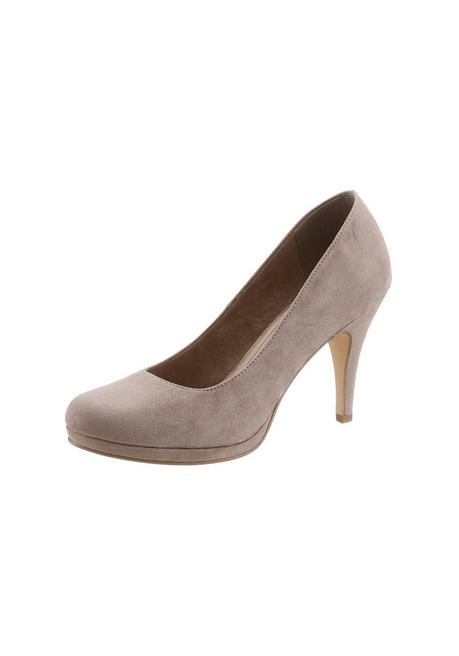 Tamaris High-Heel-Pumps »Taggia« - taupe - 40