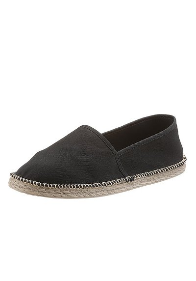 CITY WALK Espadrille - schwarz - 40