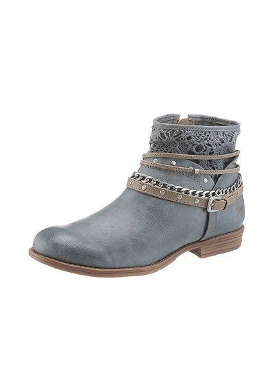 Mustang Shoes Sommerboots - blau - 40