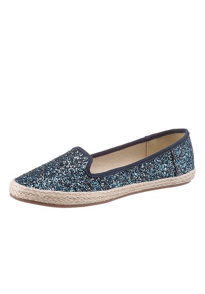 Arizona Slipper - blau - 40