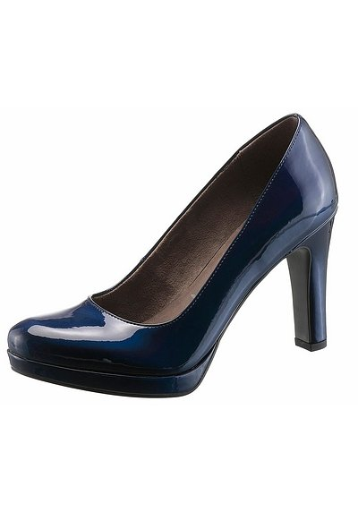 Tamaris High-Heel-Pumps - marine - 40
