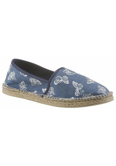 CITY WALK Espadrille - jeansblau - 40