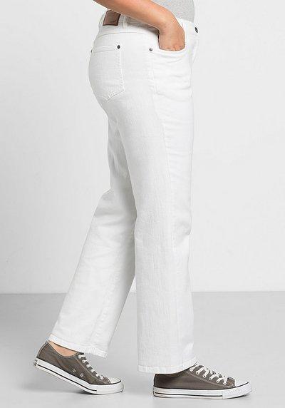 Gerade Stretch-Jeans, white Denim, Gr.21-104
