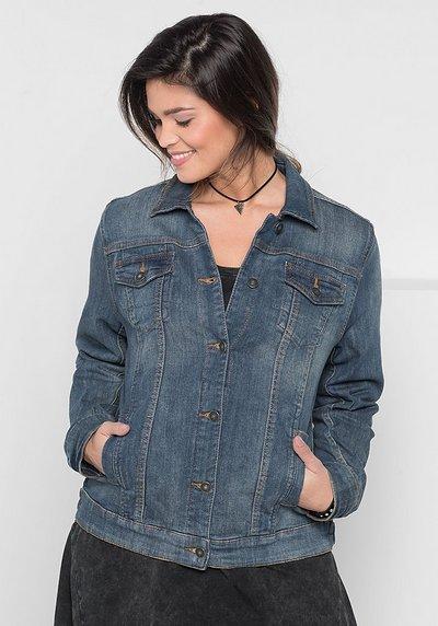 Jeansjacke mit zwei Brusttaschen, light blue Denim, Gr.40-58