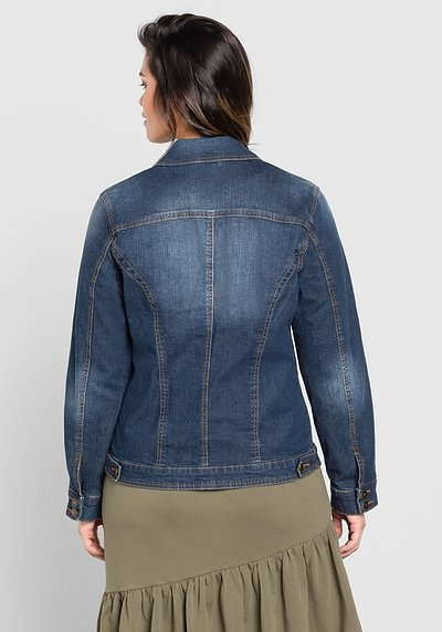... Jeansjacke im klassischen Stil, blue Denim, Gr.40-58 c0e388ea61