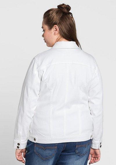 Jeansjacke im klassischen Stil, white Denim, Gr.40-58
