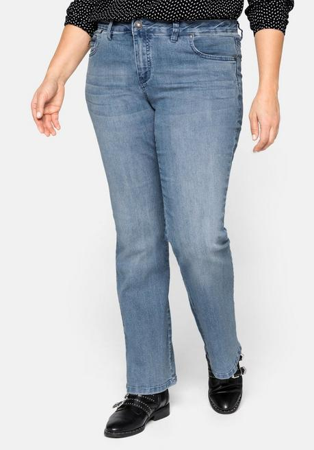 Bootcut-Stretch-Jeans MAILA - light blue Denim - 40