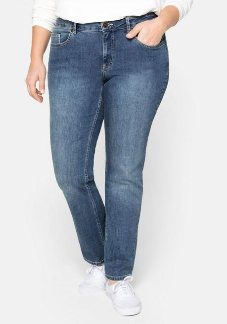 Bootcut-Stretch-Jeans MAILA - blue Denim - 40