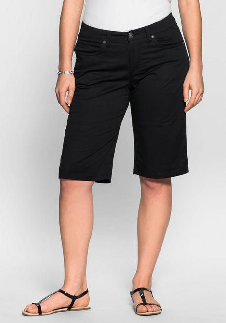 BASIC Bermudas in 5-Pocket-Form - schwarz - 40