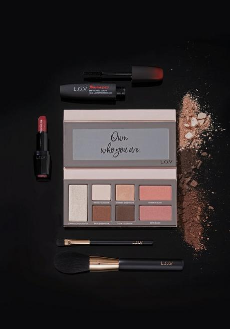 sheego by L.O.V Cosmetics Set, Abend-Make-up - mehrfarbig