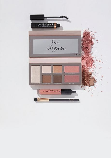 sheego by L.O.V Cosmetics Set, Tages-Make-up - mehrfarbig