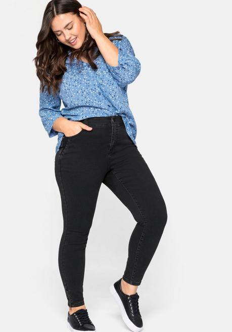 Skinny Jeans »Ultimate Stretch«, wächst bis 3 Gr. mit - black Denim - 1