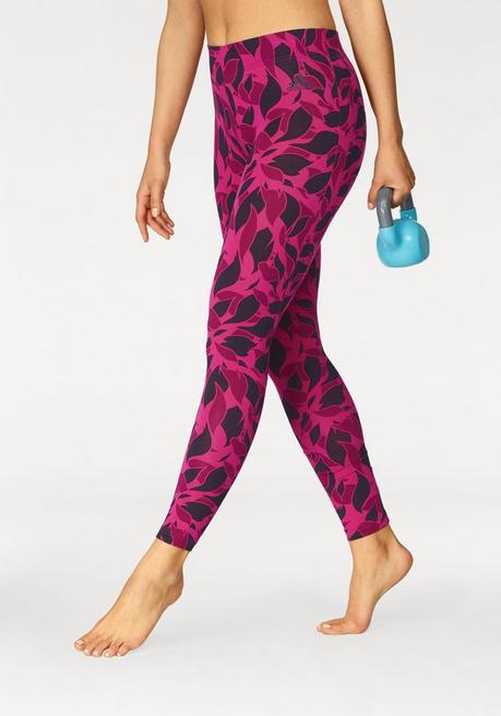 adidas Performance Leggings »ESSENTIALS ALL OVER PRINT TIGHT« - pink - L