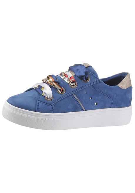 Arizona Plateausneaker - blau-goldfarben - 40