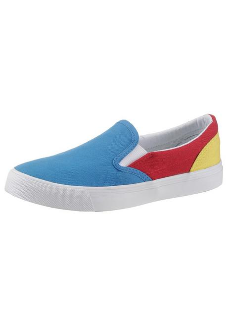 Arizona Slip-On Sneaker - blau-rot - 40