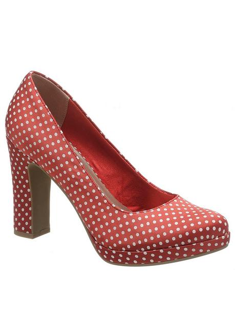 Tamaris High-Heel-Pumps »Lycoris« - rot-weiß - 40