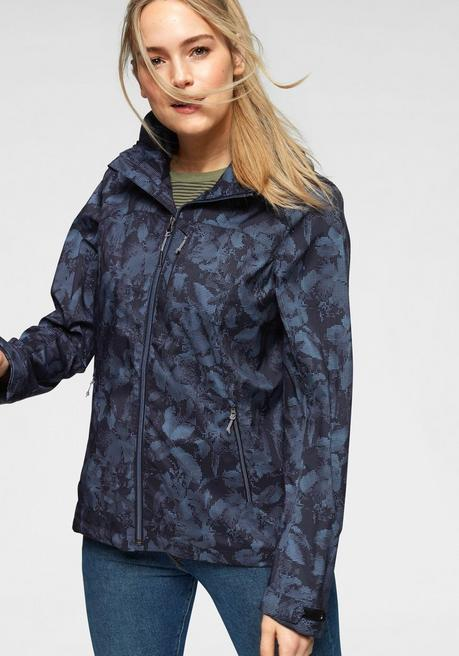 Killtec Softshelljacke »JULIA ALLOVER« - marine - 44