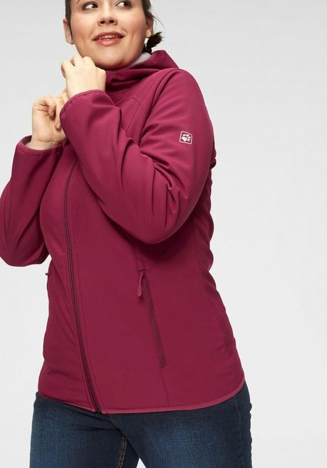 Softshelljacke - bordeaux - 44