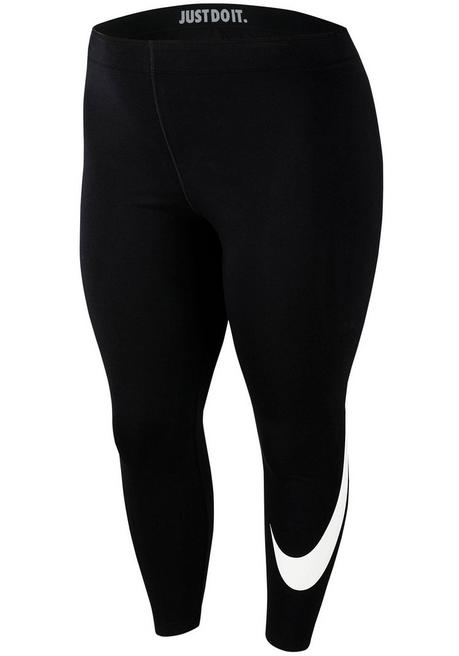 Nike Sportswear Leggings »WOMEN NIKE SPORTSWEAR LEGGINGS SWOOSH PLUS SIZE« - schwarz - XL