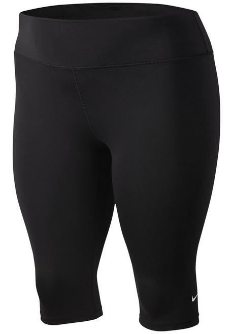 Nike Caprihose »WOMEN NIKE ONE TIGHT CAPRI PLUS SIZE« - schwarz - XL