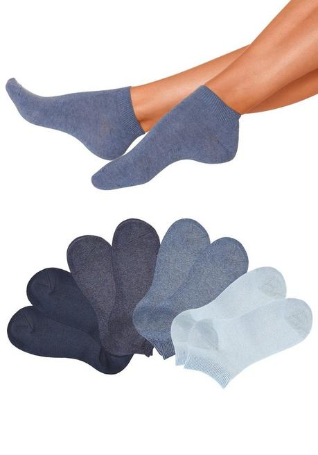 Go in Kurzsocken (8 Paar) - blau - 35/38