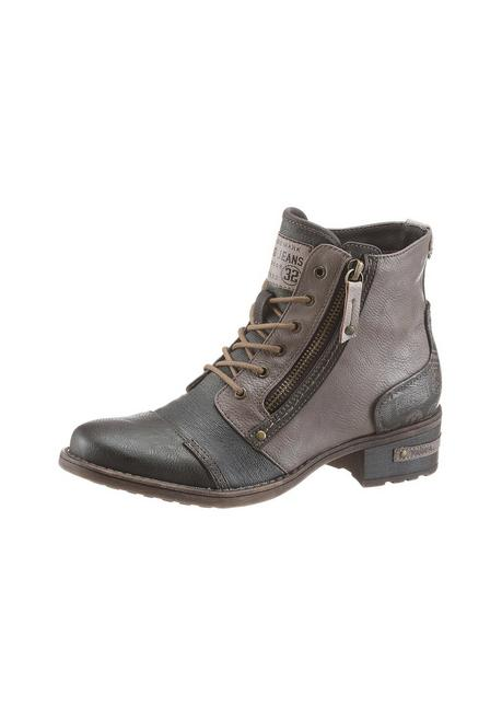Mustang Shoes Schnürboots - braun-taupe - 40