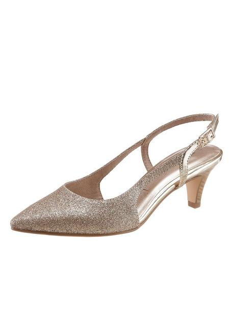Tamaris Slingpumps - goldfarben - 40