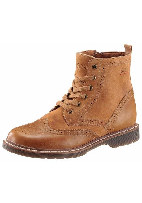 s.Oliver RED LABEL Schnürboots - braun - 40