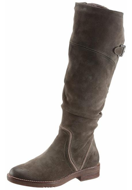 Be Natural Stiefel - oliv - 40