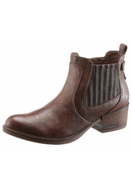 Mustang Shoes Westernstiefelette - braun - 40